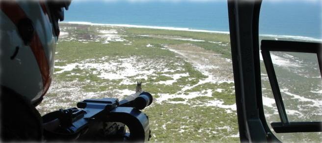 Metralhadora lateral do UH-12.