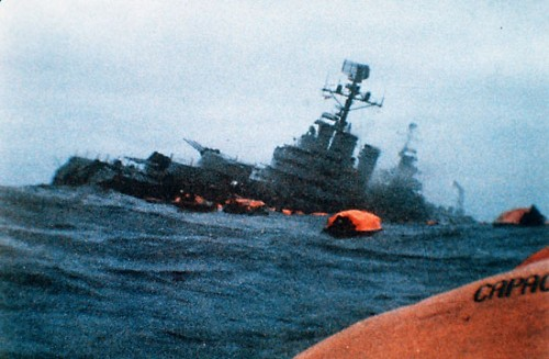 belgrano-sinking