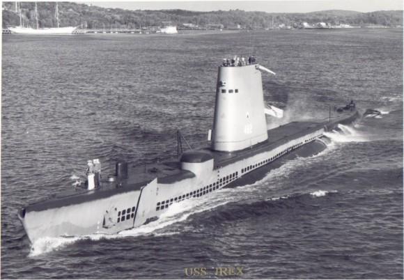 USS Irex na decada de 1960 - foto via Navsource