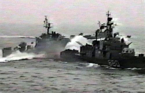 korea naval clash