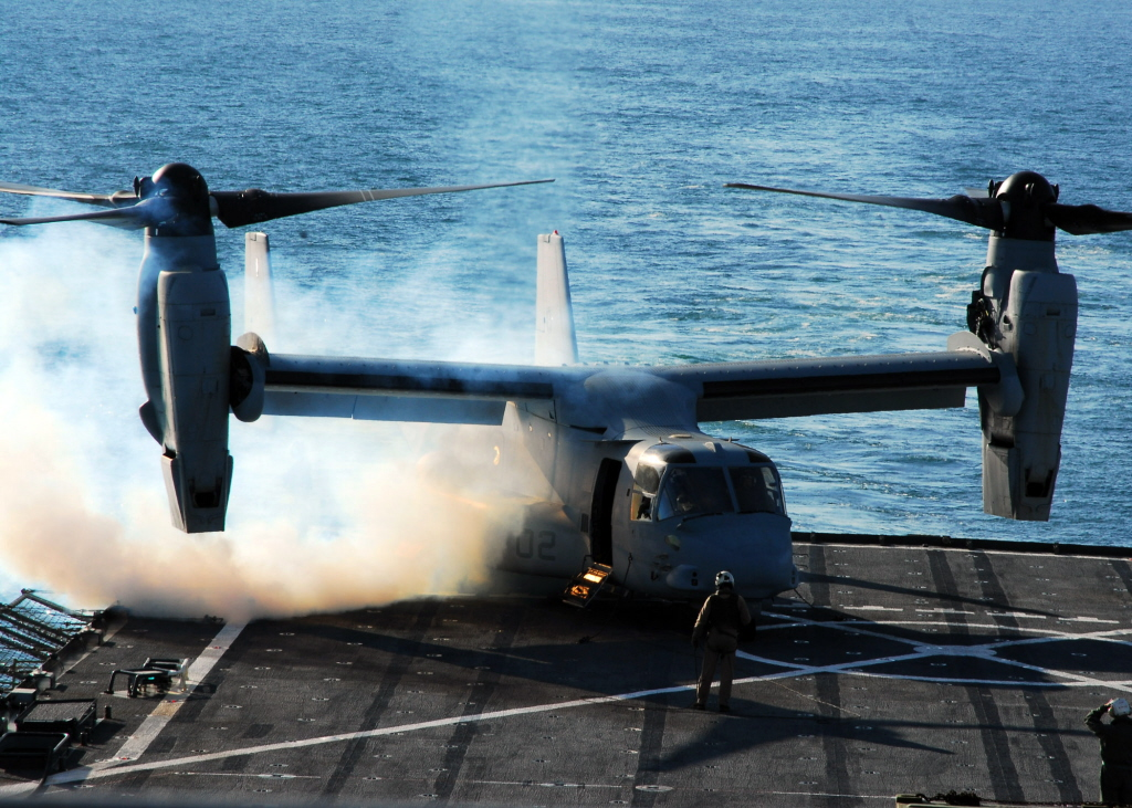 MV-22 Osprey start