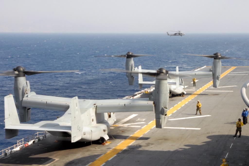 MV-22 Osprey exaust