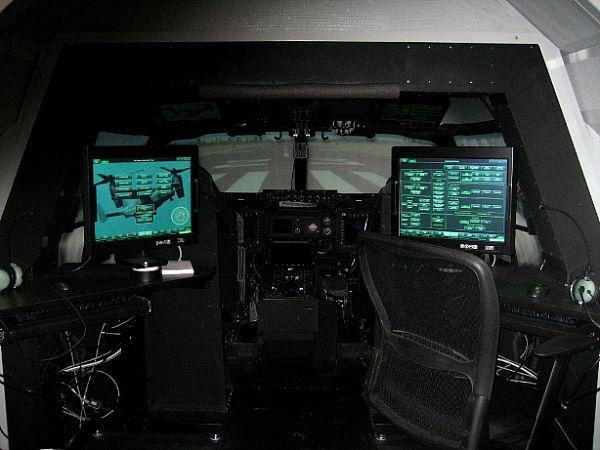 Simulador de Voo - MV-22