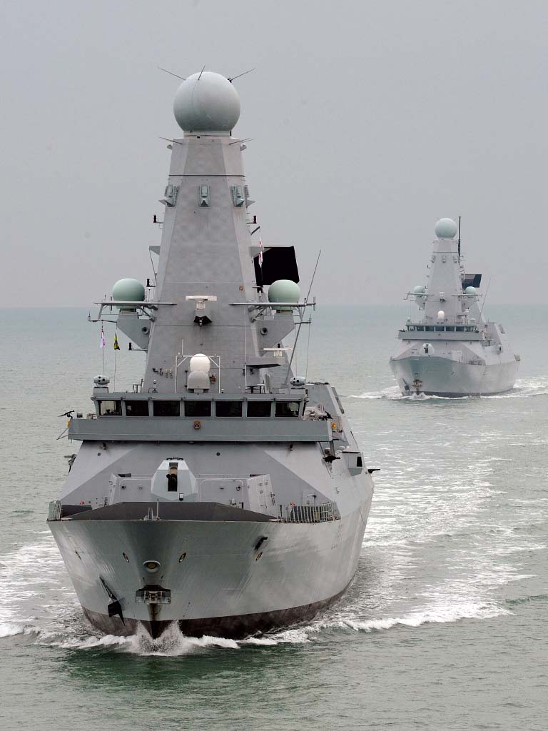 HMS Daring and HMS Dauntless