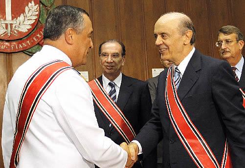 CM Moura Neto e Governador José Serra