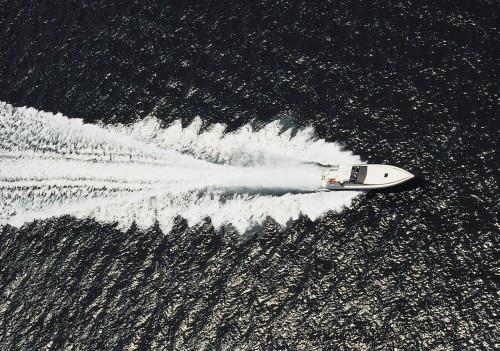 motorboat aerial