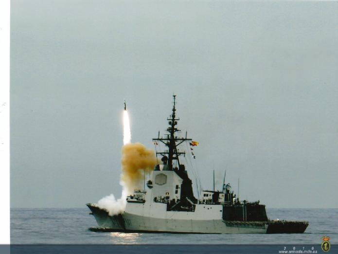 F 101 em CSSQT - foto 2 Armada Espanola