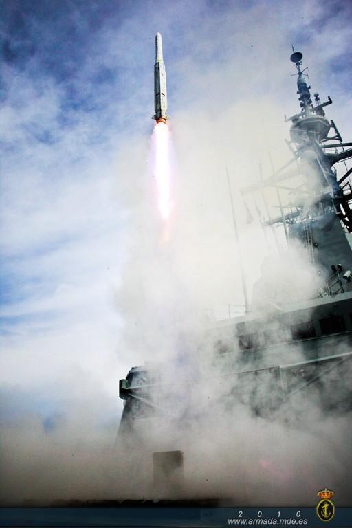F 101 em CSSQT - foto Armada Espanola