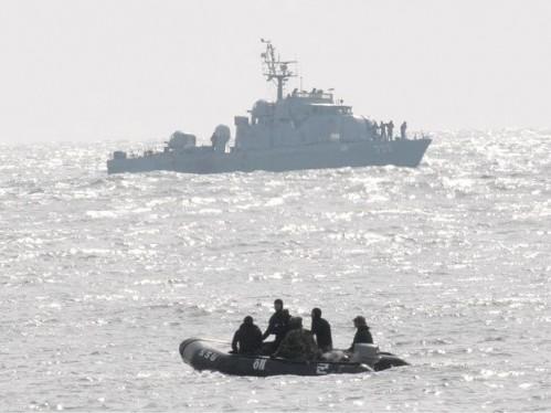 ROK Navy procura por desaparecidos - Foto AP
