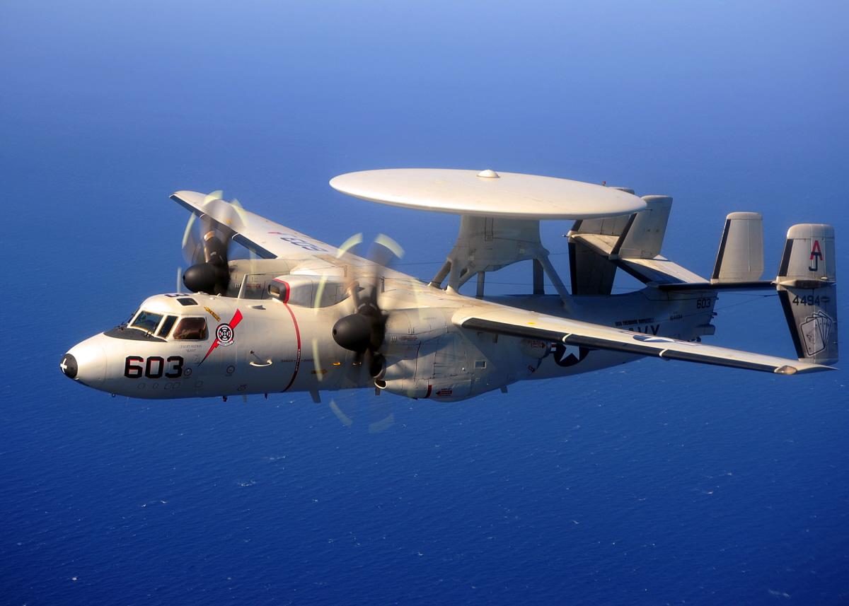 """E-2C Hawkeye (VAW) 124 """"Bear Aces"""""""