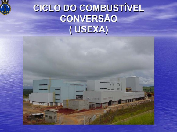 Ciclo de Combustível Nuclear - Conversão - Palestra MB