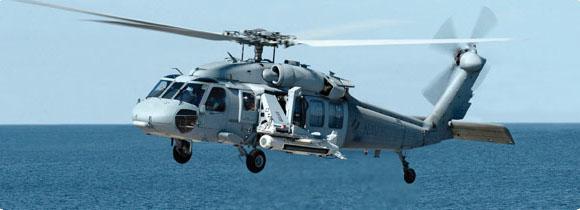 MH60S com AN-AQS-20 de contramedidas de minagem