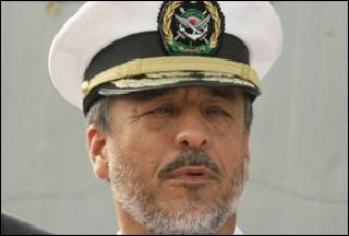 Navy commander Rear Admiral Habibollah Sayyari