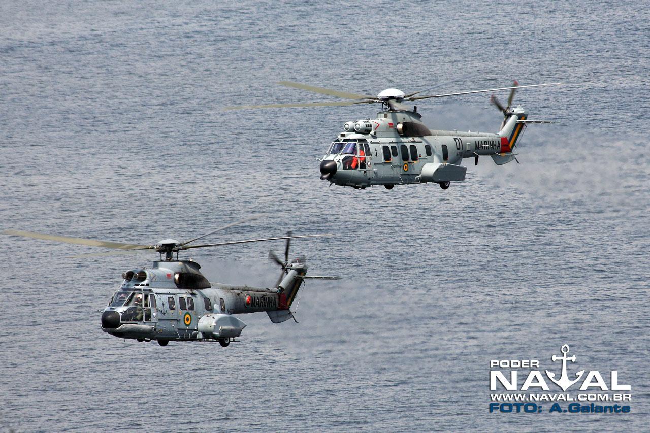 UH-14 Super Puma e UH-15 Super Cougar