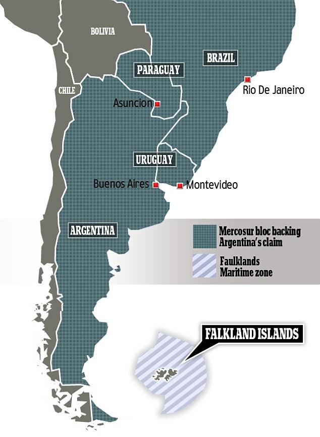 Resultado de imagem para redor das falklands tomar a américa Latina?