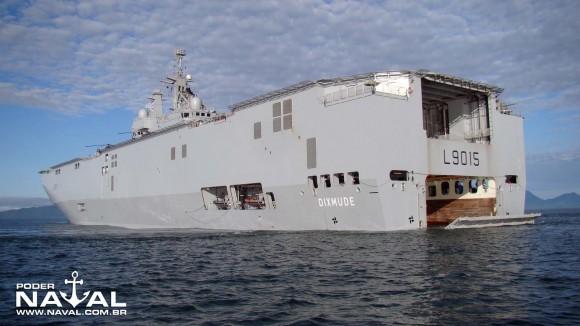 BCP Dixmude - foto Nunão - Poder Naval