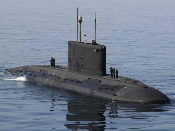 Islamic Republic of Iran Navy (IRIN) Kilo naval diesel-electric submarine Project 636
