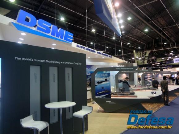 Daewoo DSME  - Euronaval 2012 - foto forcas de defesa - poggio