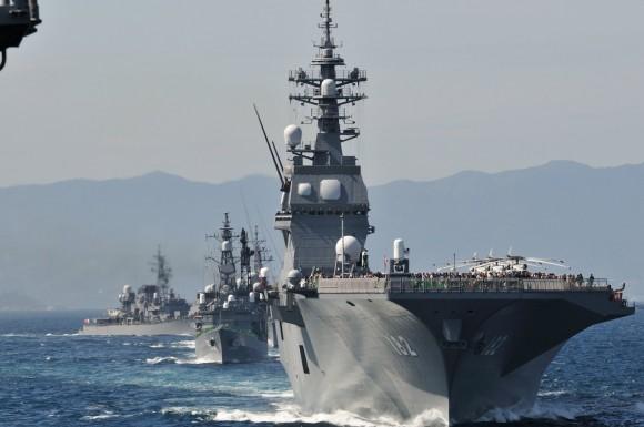 JMSDF Fleet Review 2012 - 30