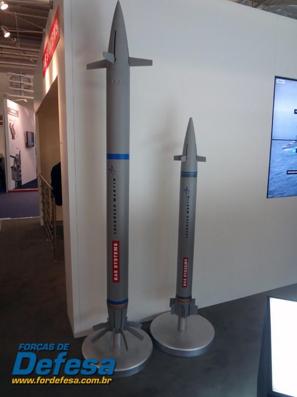 municao guiada BAE - Euronaval 2012 - foto forcas de defesa - poggio