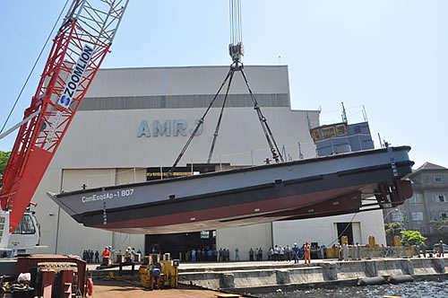 EDVM construida pela marinha