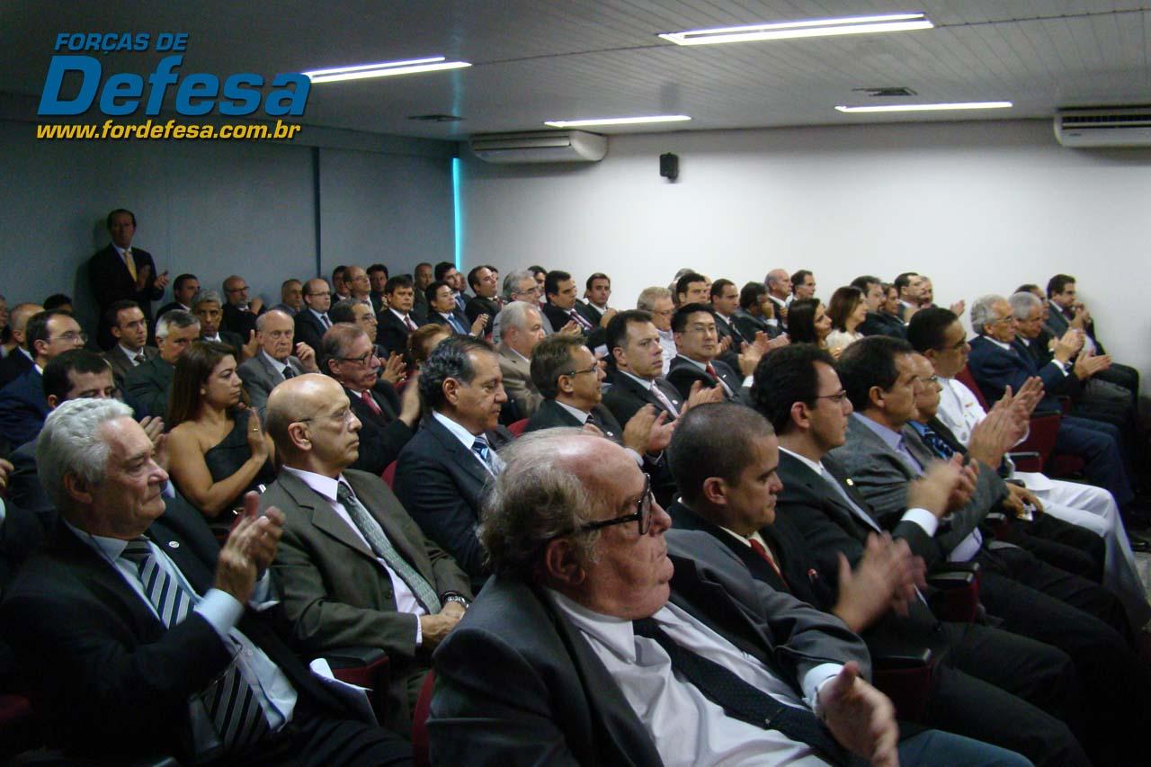 ABIMDE - evento novo presidente Sami Youssef Hassuani - foto 2 Forças de Defesa