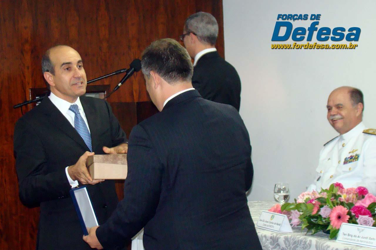ABIMDE - evento novo presidente Sami Youssef Hassuani - foto 3 Forças de Defesa