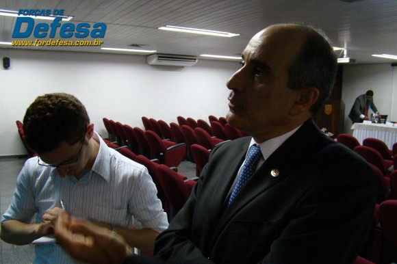 ABIMDE - evento novo presidente Sami Youssef Hassuani - foto 5 Forças de Defesa