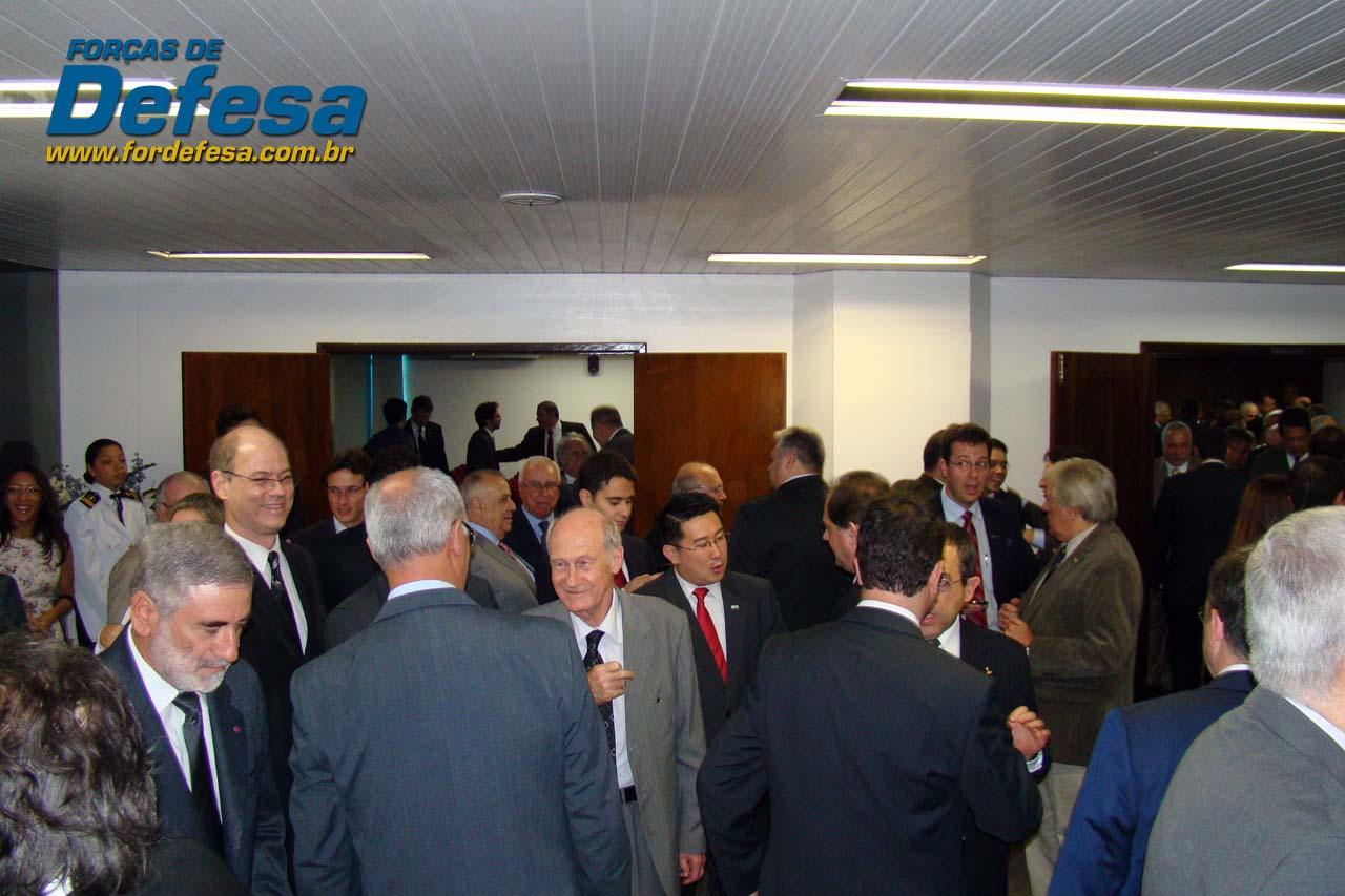ABIMDE - evento novo presidente Sami Youssef Hassuani - foto 7 Forças de Defesa