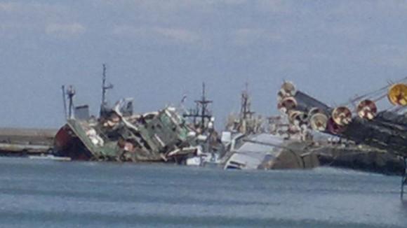 Armada Argentina, el triste final del Santisima Trinidad 1