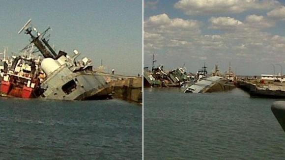 Armada Argentina, el triste final del Santisima Trinidad