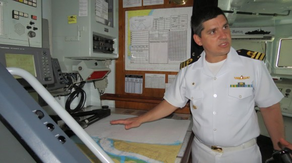 Capitão-de-Fragata Canellas - Comandante do navio fala sobre a Missão no Líbano