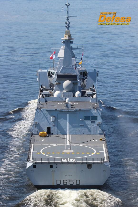 FREMM Aquitaine - foto A Galante - Forças de Defesa