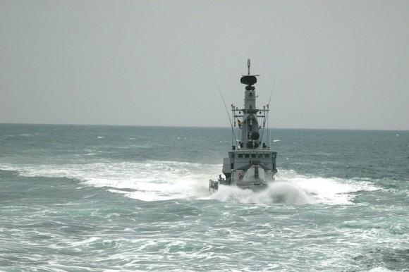 HMS Sundsvall no Joint Warrior 2013 - foto Forças Armadas da Suécia