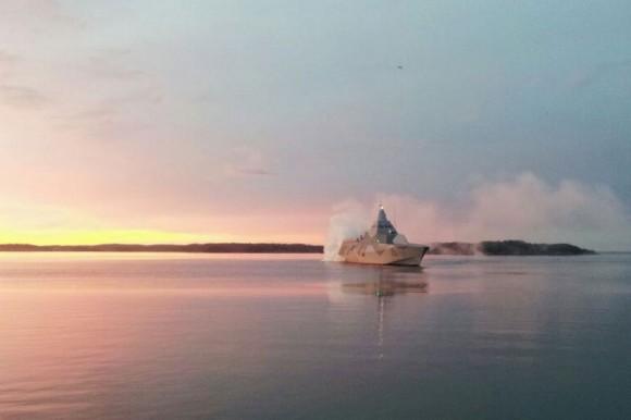HMS Visby no Joint Warrior 2013 -  foto 2 Forças Armadas da Suécia