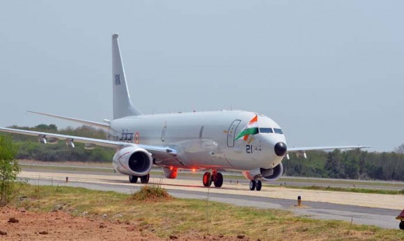 P-8I chega à Índia - foto Boeing