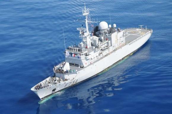 Fragata de Vigilância Vendémiaire celebra 20 anos em serviço - foto Marinha Francesa