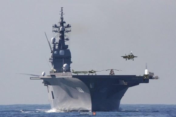 Izumo with F35