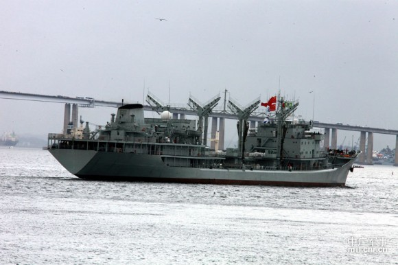 Passex Brazilian Navy x PLA Navy - 12