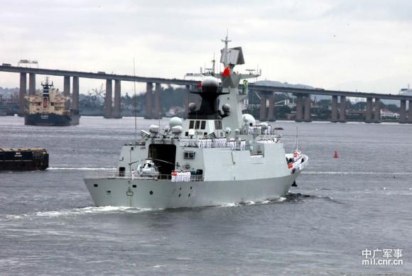 Passex Brazilian Navy x PLA Navy - 13