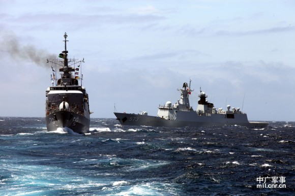 Passex Brazilian Navy x PLA Navy - 2
