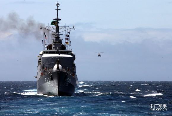 Passex Brazilian Navy x PLA Navy - 3