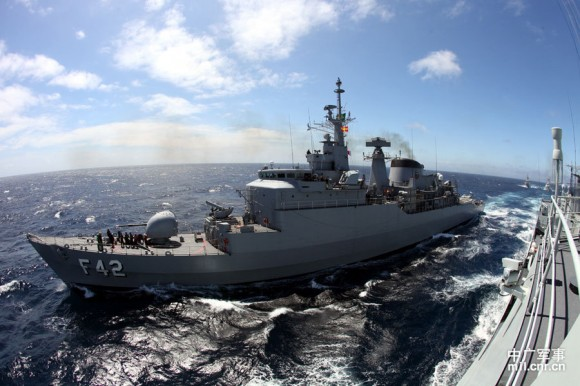 Passex Brazilian Navy x PLA Navy - 4
