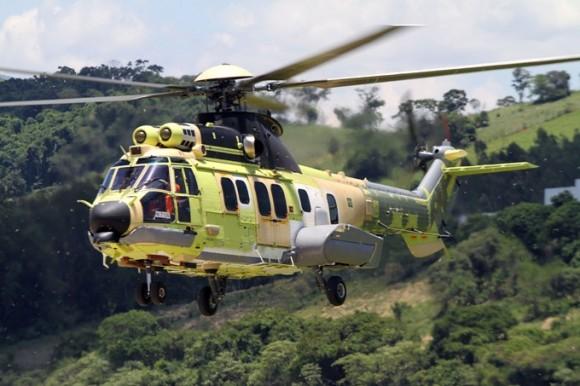 EC725 BRA 17 em voo - foto Helibras