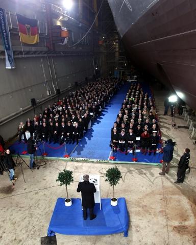 F125 Baden-Württemberg - batismo - foto 3 Marinha Alemã