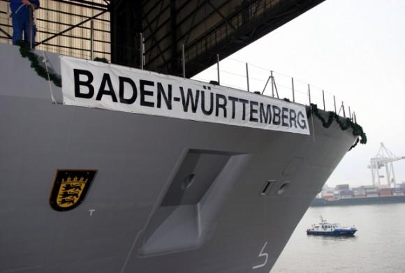 F125 Baden-Württemberg - batismo - foto 5 Marinha Alemã