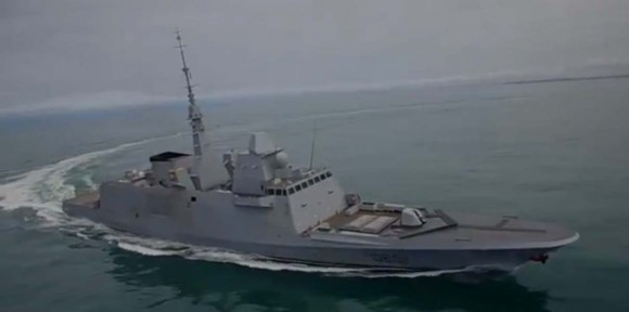 FREEM Normandie em provas - cena 2 vídeo DCNS