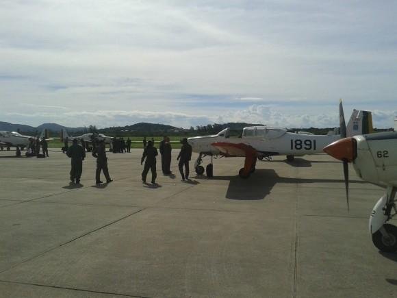 T-25C visitam BAeNSPA - 3