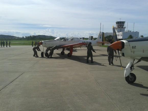 T-25C visitam BAeNSPA - 4