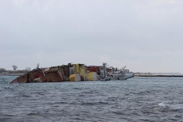 afundamento do Ochakov